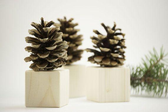 Pine cone decor - Christmas decoration - Winter home decor - Christmas table decor - Christmas party decor