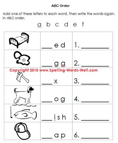 32++ Homemade spelling worksheets Top