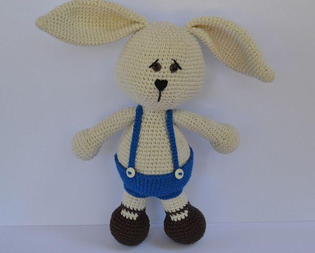 Es un Mundo Amigurumi: Conejo... Patrón Gratis!!!! | Crochet ...