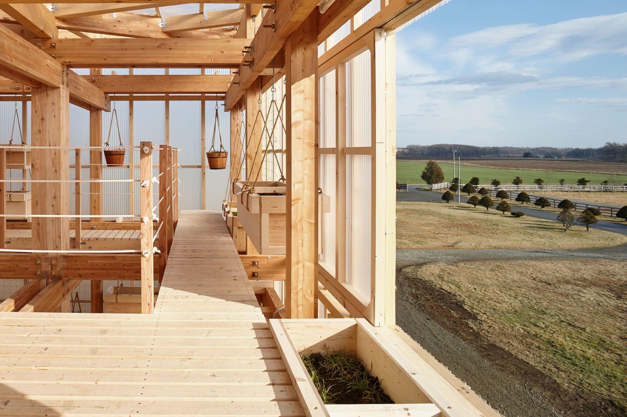 Leben im Gewächshaus - Studenten bauen mit Kengo Kuma in Japan ...