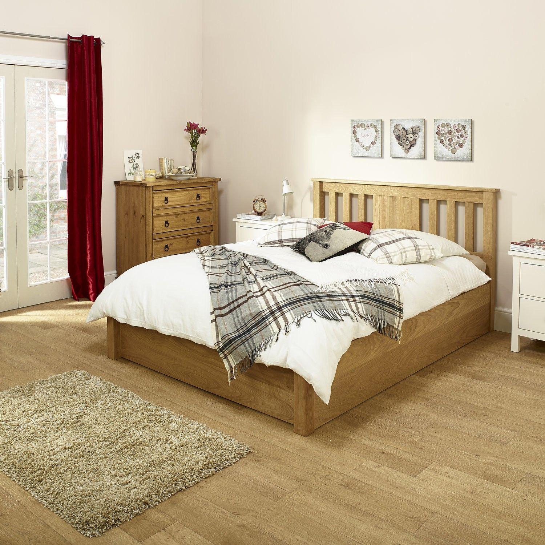 Madison Wood Bed | Bedroom ideas | Pinterest