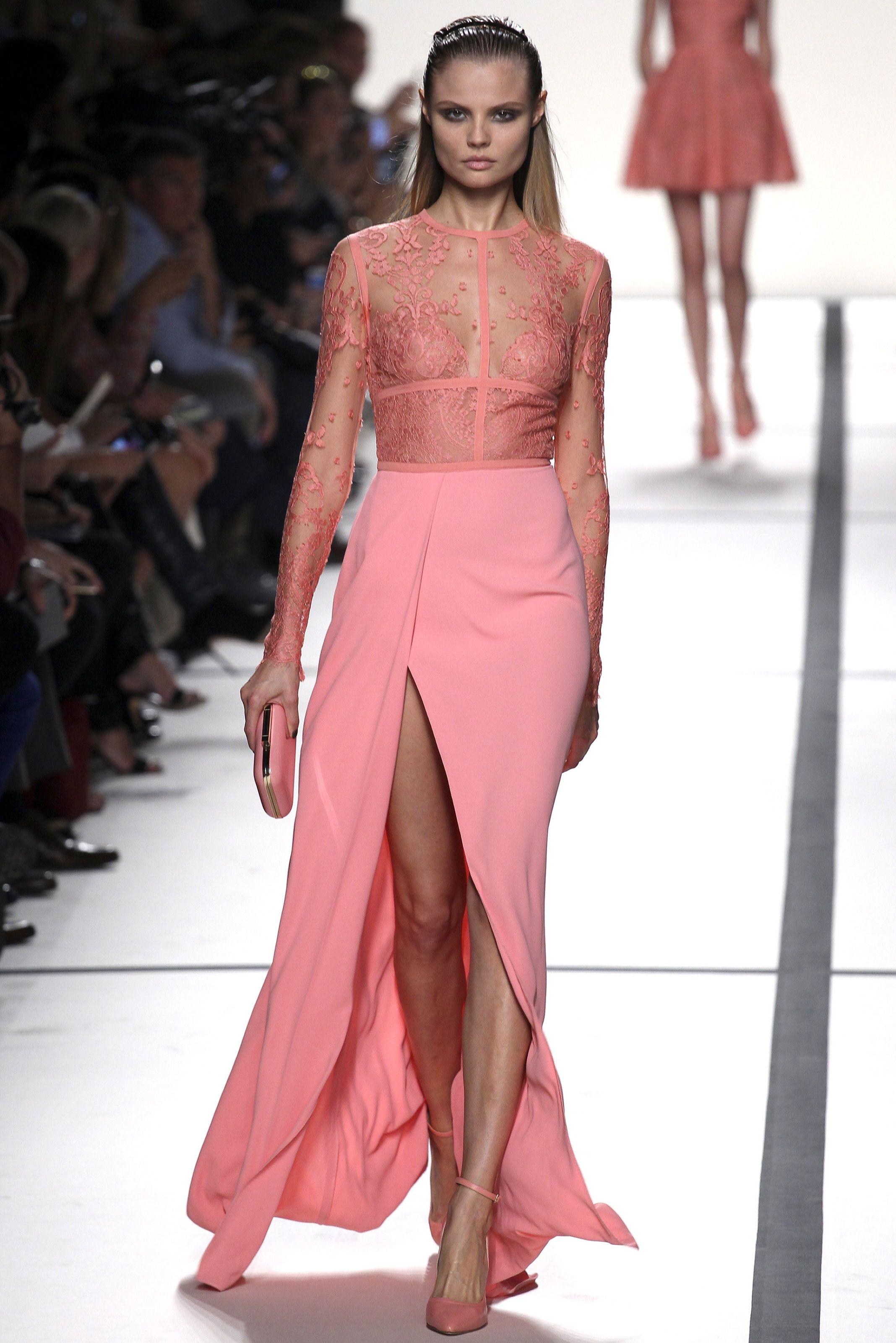 Elie Saab - Spring Summer 2014   Long Dresses   Pinterest   Clóset ...