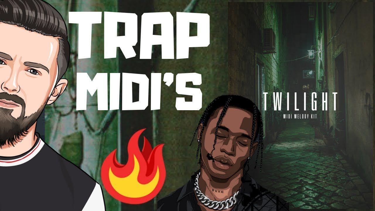 FREE Travis Scott / Cubeatz Trap Midi Kit 2019 (40 MIDI'S