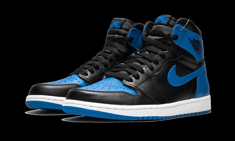 2017 Nike Air Jordan 1 Nike Retro High Og Royal Blue Pin On Wardrobe