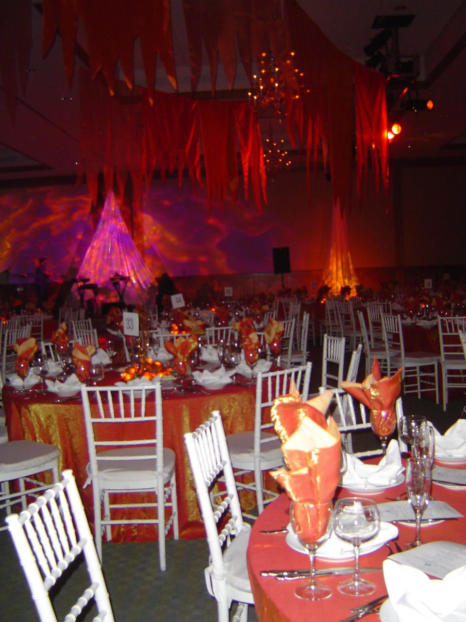 Fire Centerpieces Fire And Ice Awards Night Fire Decor