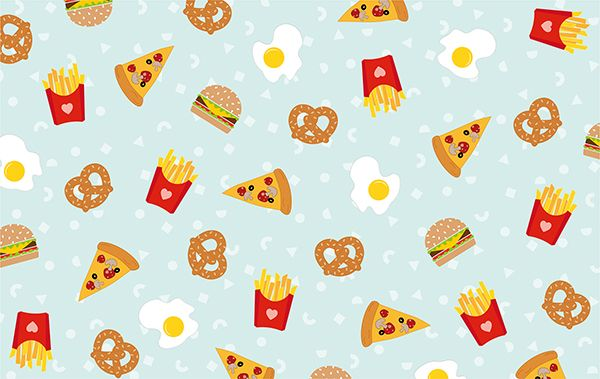 Junk food for days Food wallpaper, Cute food wallpaper