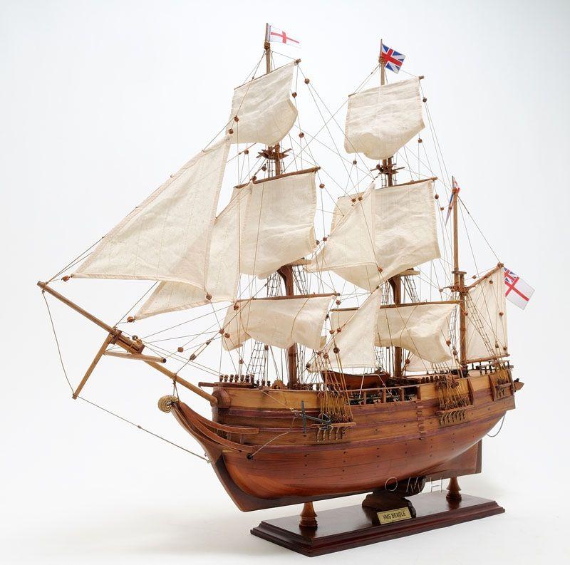 Hms Beagle Charles Darwin Ship Model Ships Hms Beagle Boat