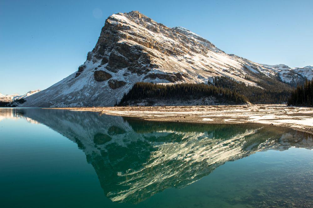Canadian lake reflection.