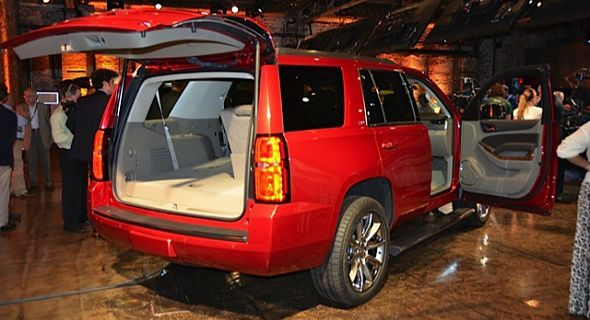 2016 Chevrolet Tahoe Cargo Space Chevrolet Tahoe Chevrolet Tahoe