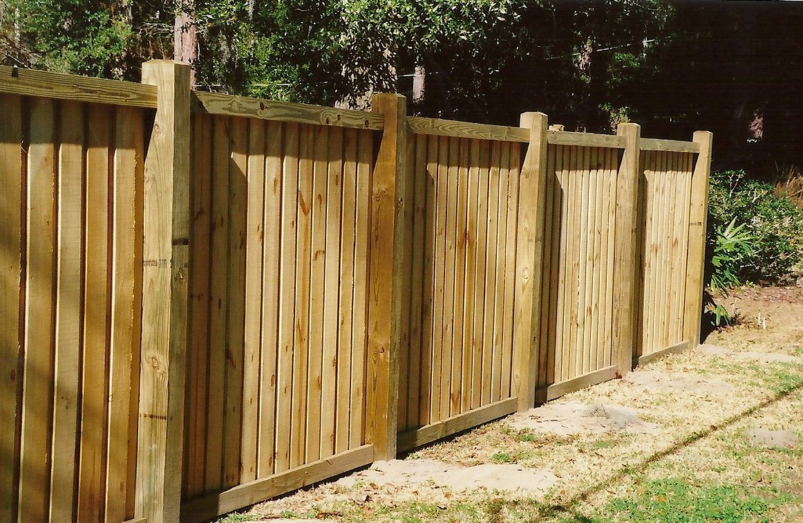 Board On Board Fence Design Board On Board Fencing Gainesville Fl Fence Design Wood Fence Design Backyard Fences