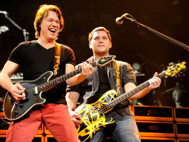 The Kids Are Alright Rock Star Offspring Who Know How To Rock Hard Eddie Van Halen Van Halen Famous Musicians