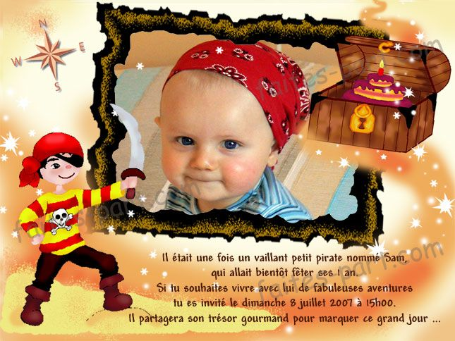 invitation anniversaire enfant pirate tattoo designs projets essayer pinterest pirate tattoo. Black Bedroom Furniture Sets. Home Design Ideas