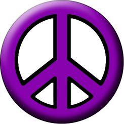 Vector Dark Purple Love And Peace Theme Background Stock ...  |Peace And Love Purple