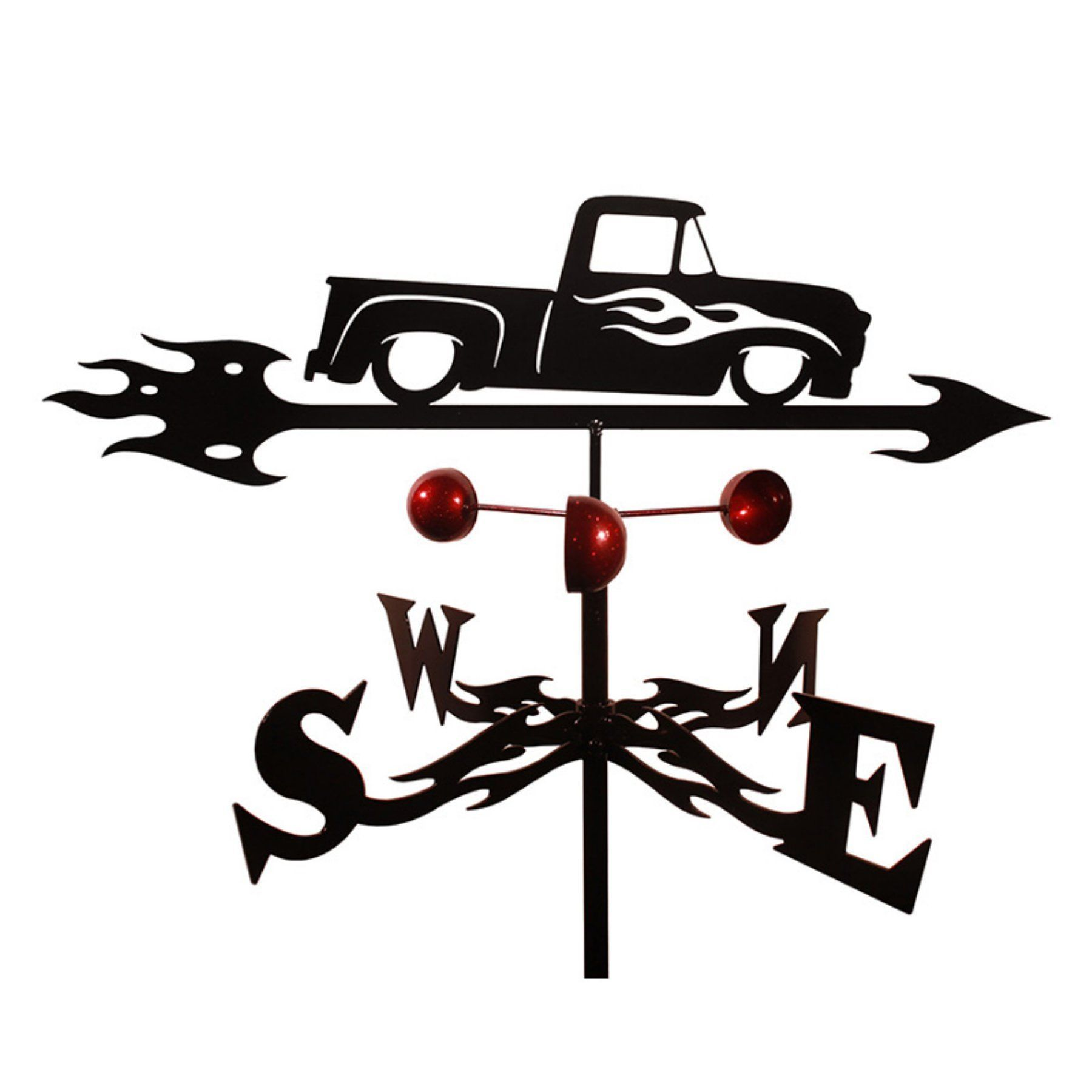 SWEN Products Farrell Series WILLIE WILLYS AUTO CAR Steel Weathervane