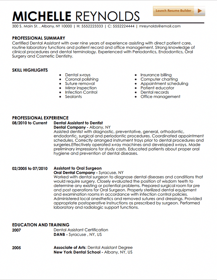 Dental Assistant Resume Example Dentalhygienistcup Dental Assistant Job Description Dentist Resume Dental Hygiene Resume