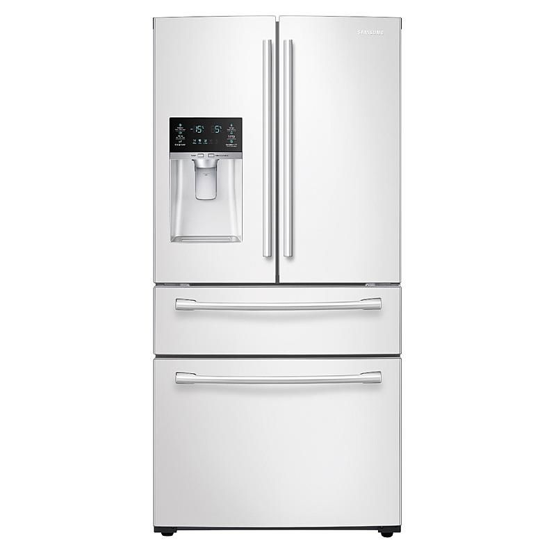 Samsung Rf28hmedbww Aa 28 Cu Ft 4 Door French Door Refrigerator White In 2020 White French Door Refrigerator French Doors French Door Refrigerator