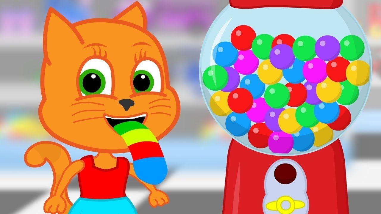 Familia De Gatos La Maquina Gumball Dibujos Animados Para Ninos Youtube Ninos Dibujos Animados Dibujos Animados Gato De Halloween