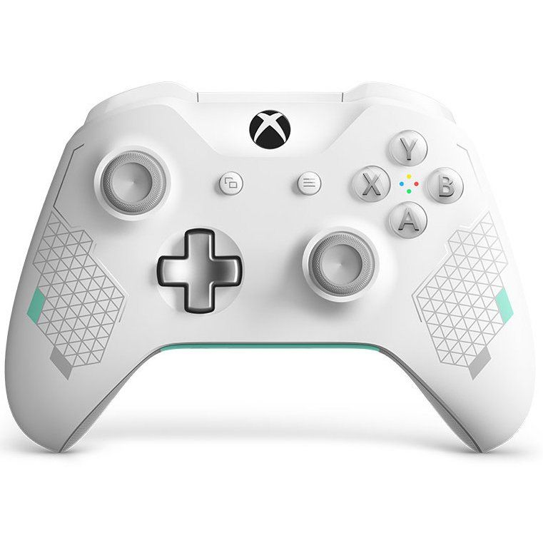 Wireless Xbox One Controller Sport White In 2020 Xbox Controller Xbox One Xbox One S