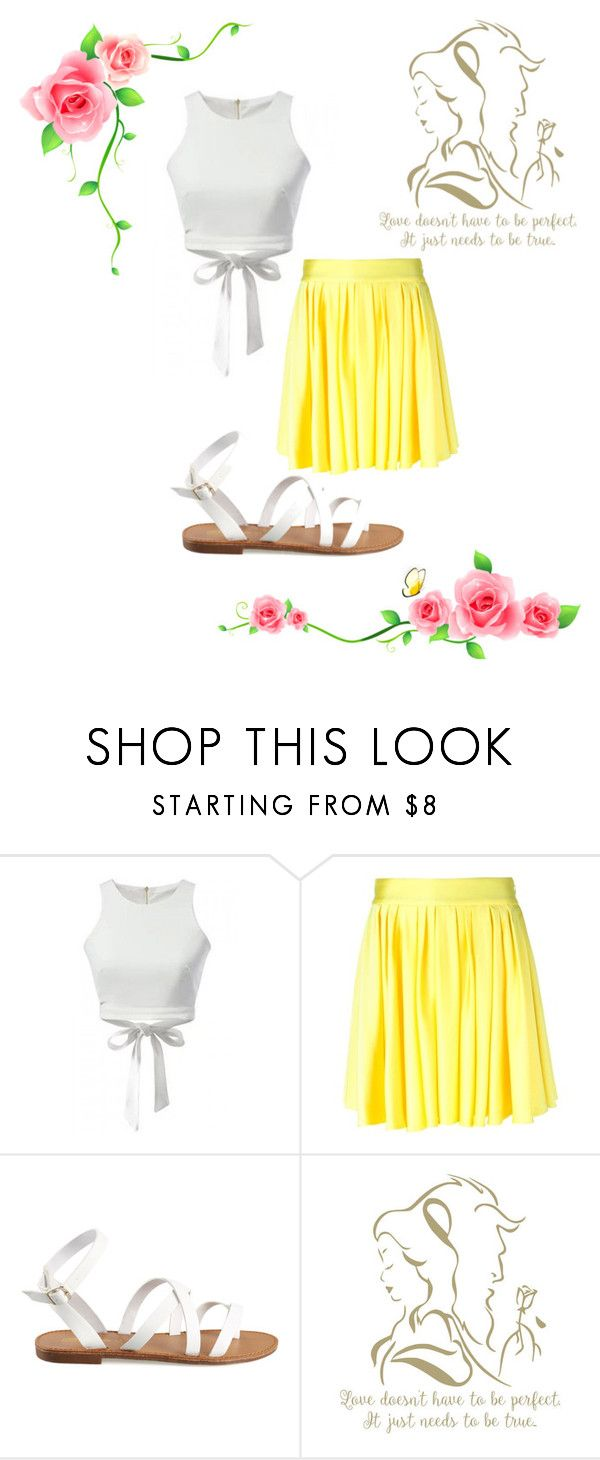 """""""BElieve in YOUrself"""" by the-disney-is-strong-with-me ❤ liked on Polyvore featuring FAUSTO PUGLISI and JustBeYou"""