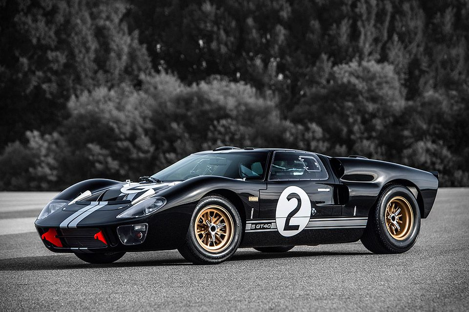 Shelby Gt40 Mkii 50th Anniversary Le Mans Edition Ford Gt40