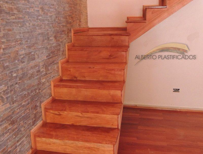 colocacin de escalera colocacin de parquet de eucalipto rostrata
