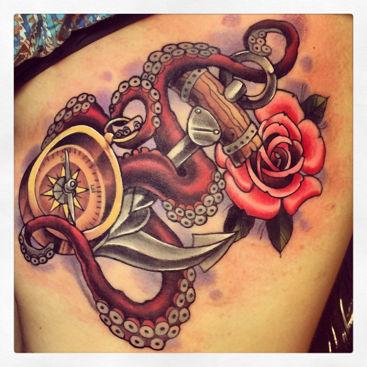 neo traditional anchor tattoo designs - Google Search ...