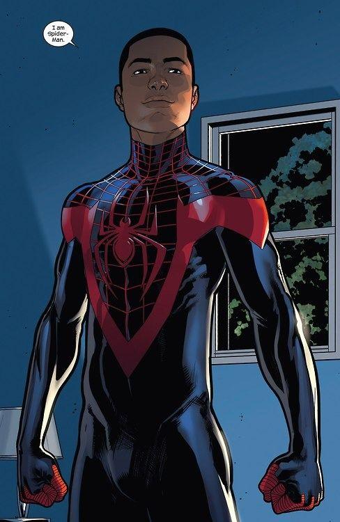 Spider-Man (Miles Morales) | Spiderman, Marvel comics, Héros