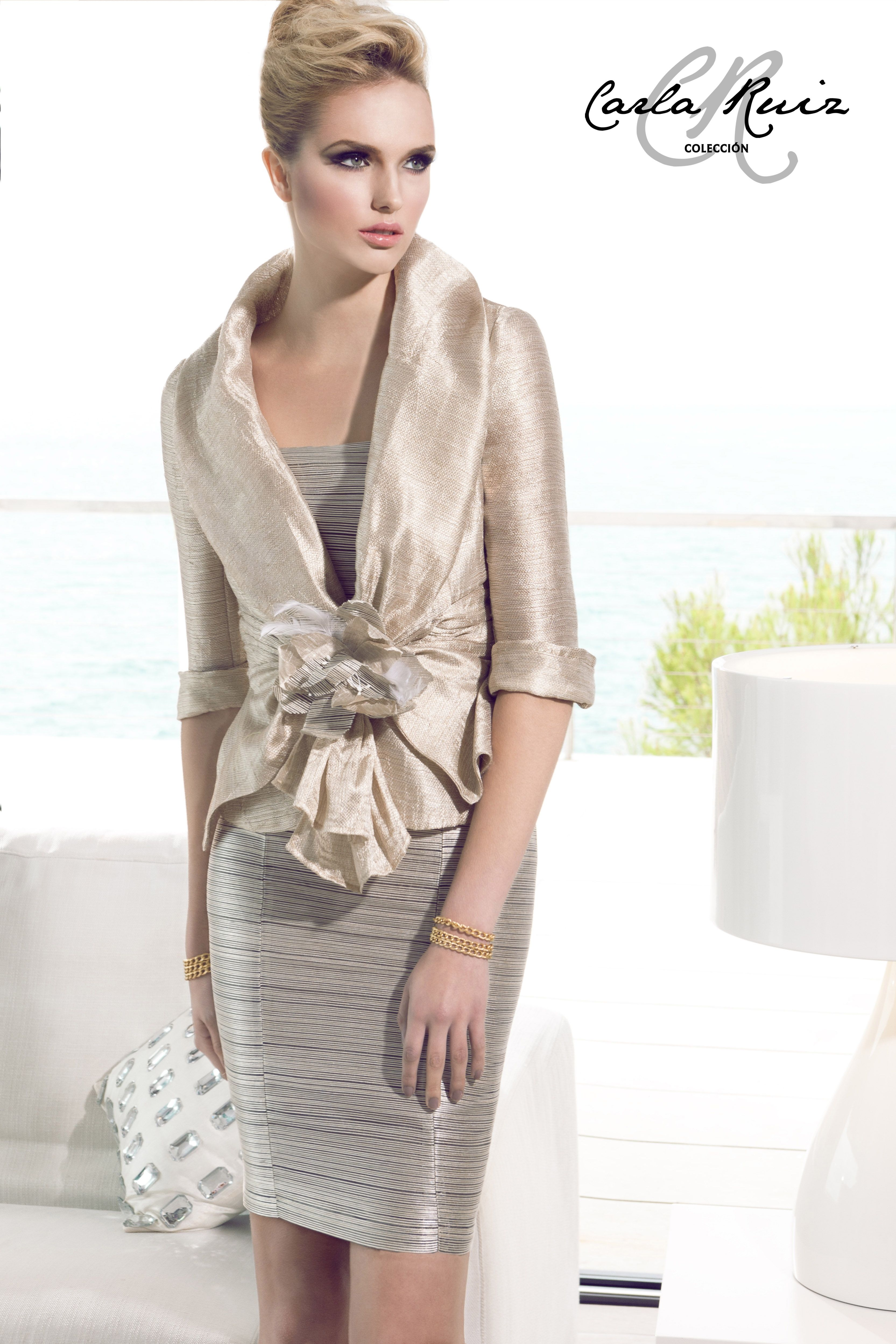 e98f3e0d9c 88377 - Vestido de Madrina - Carla Ruiz