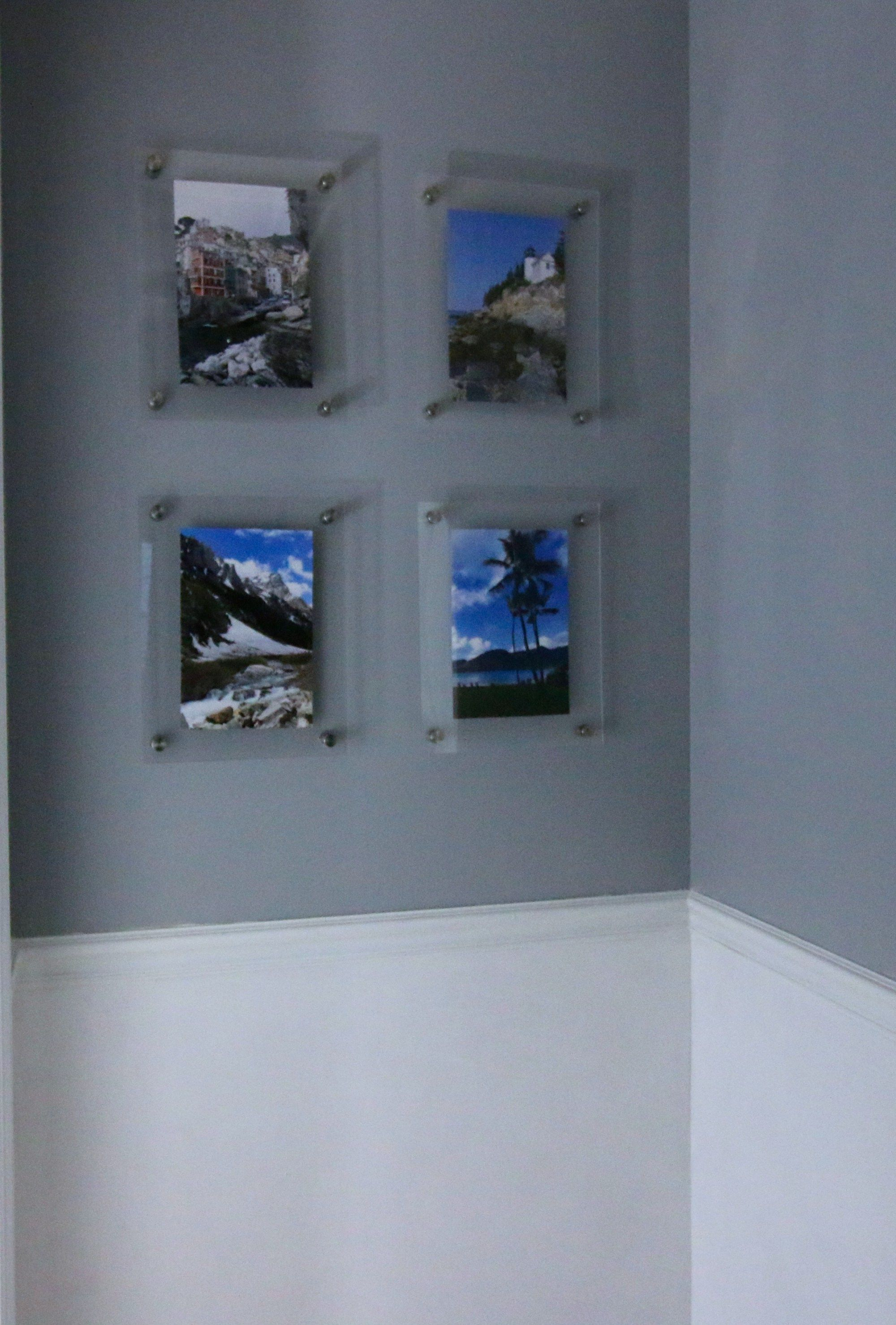 Diy Knock Off Wall Mounted Acrylic Frame Gallery Wall Gallery Wall Frames Frame Wall Decor Gallery Wall