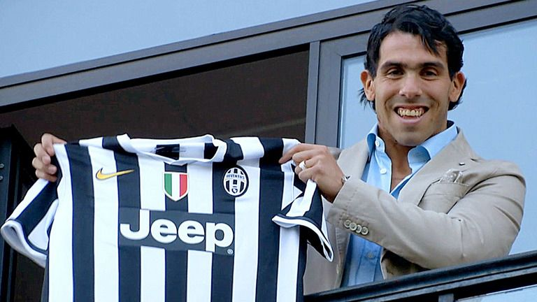 meet cc2a4 365a2 Carlos Tevez is proud to wear the number 10 shirt for ...