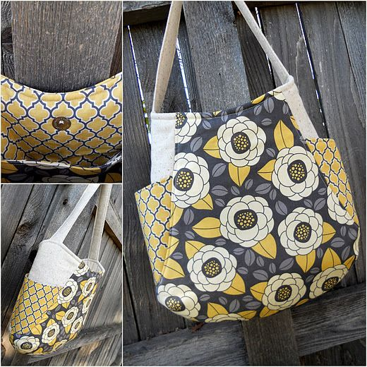 241 Tote Pattern.  Another bag I love!