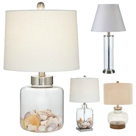 Fillable Glass Table Lamps Lamp Glass Table Lamp Glass Lamp