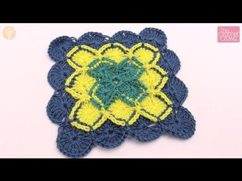 Bavarian Crochet Square - The Crochet Crowd   Crochet-Blankets