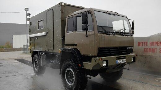 Steyr 12m24 Wohnmobil Selbstausbau Overlanding