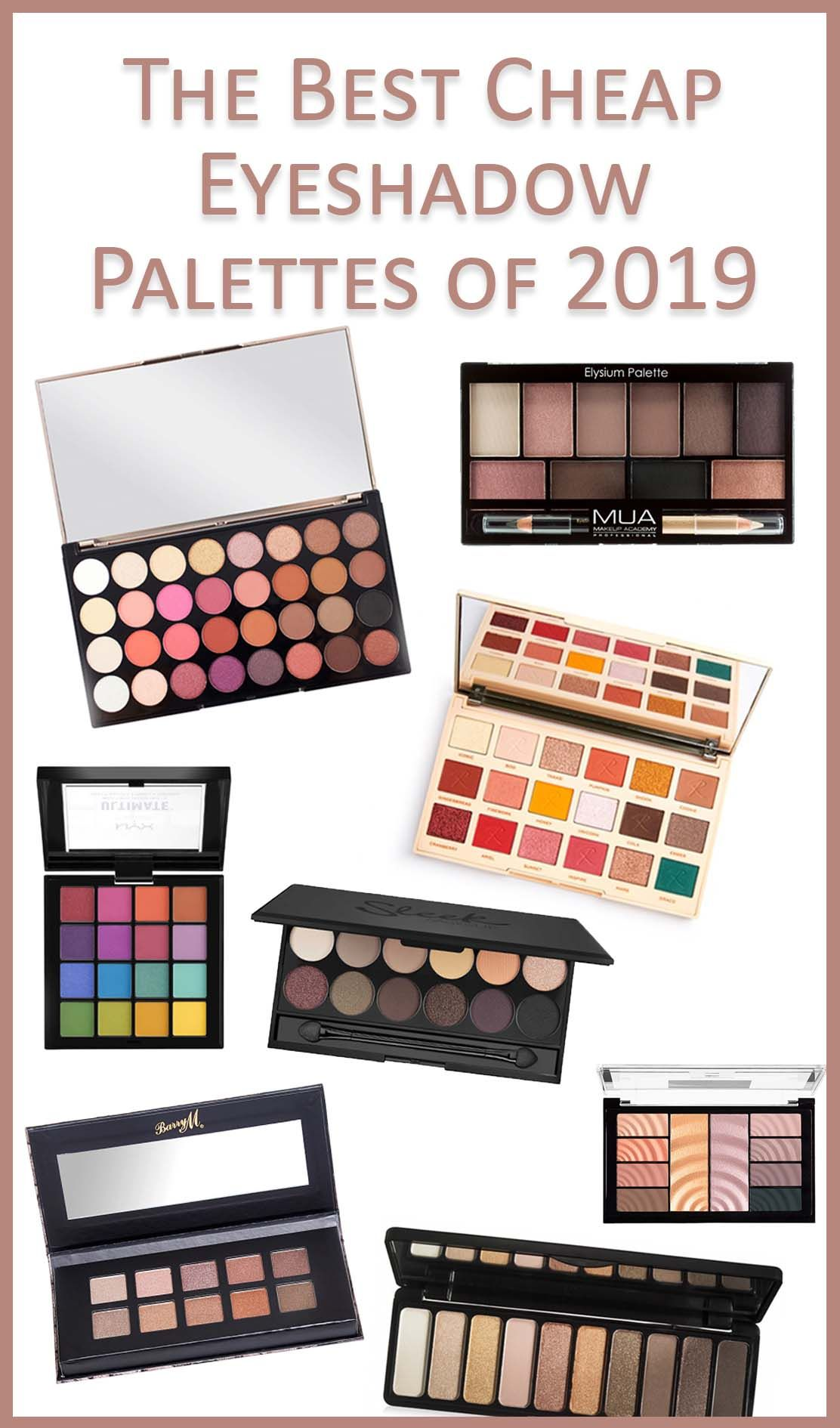 The Best Cheap Eyeshadow Palette of 2019 is online now