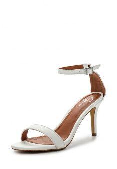 Босоножки Spurr, цвет: белый. Артикул: SP004AWGPN67. Женская обувь / Босоножки