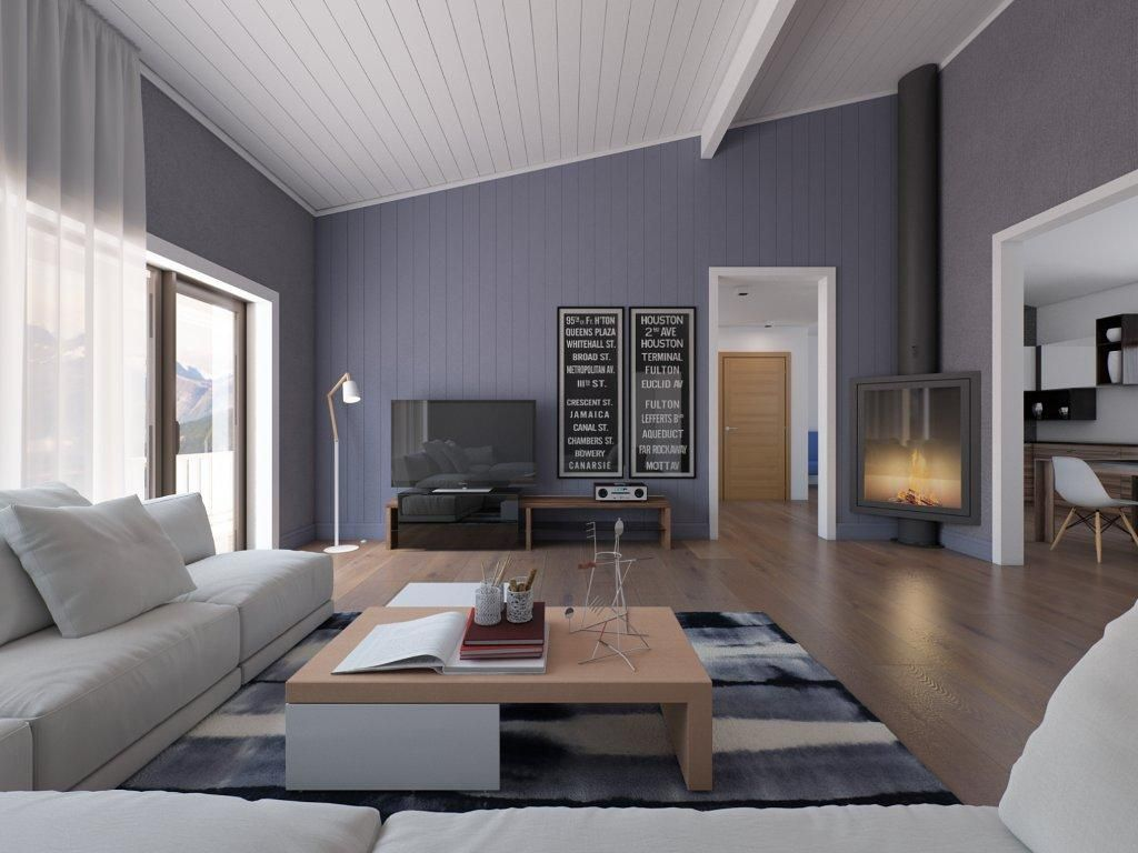 Living in grey colors. Small home interior design. | Living & Family ...
