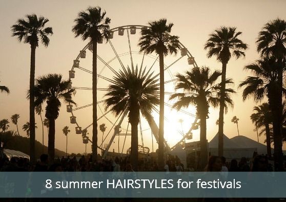 8 Hairstyles for Music Festivals, and the Made in USA Products To Give You The Look