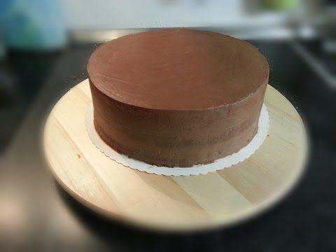 Schokoladen Ganache Grundrezept Herstellung Verwendung