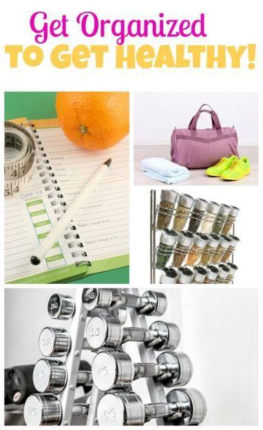 Six tips for how to get organized --- and improve your health in the New Year! #ad
