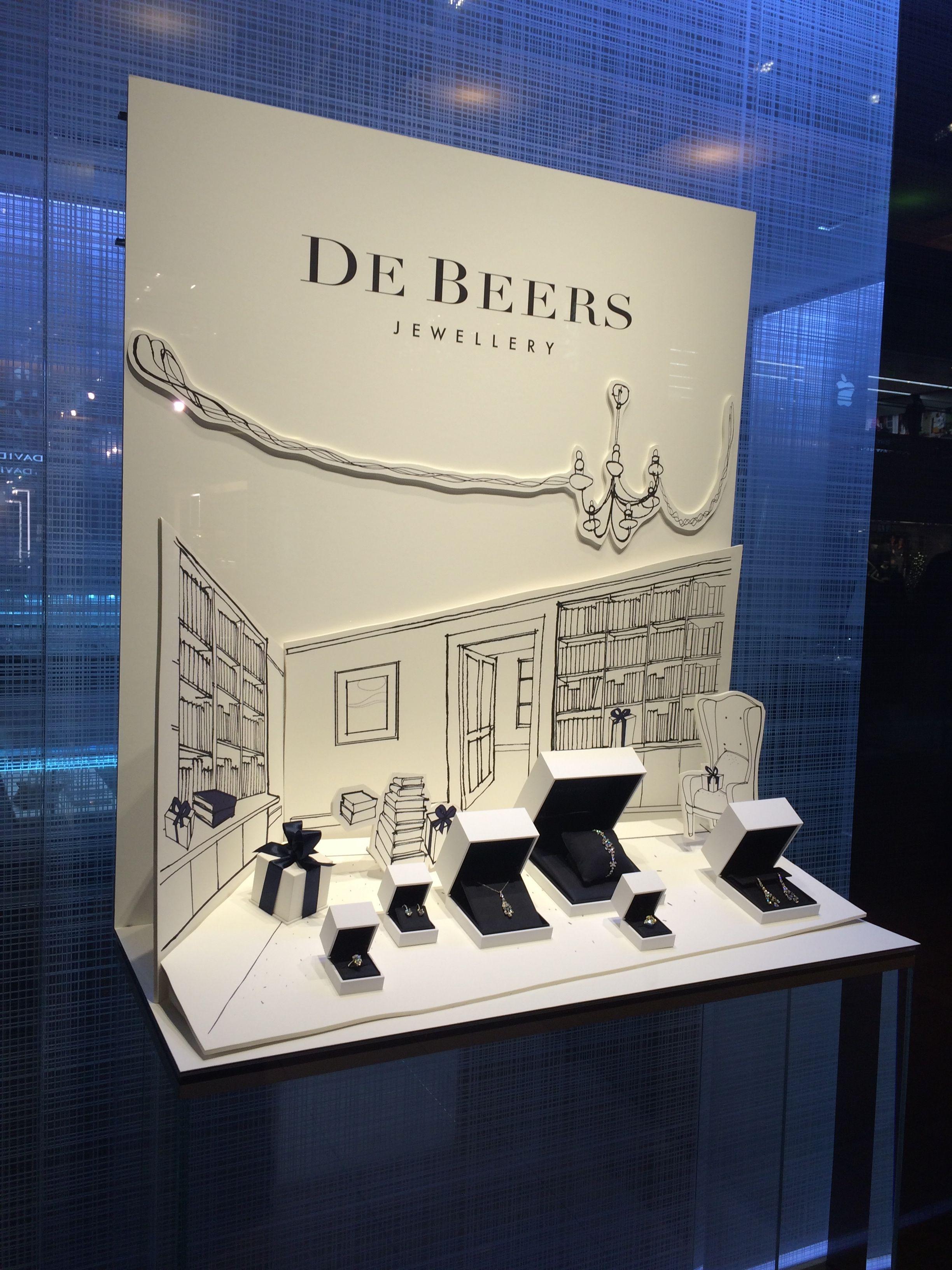 Debeers Window Display Houston Window Display Jewellery