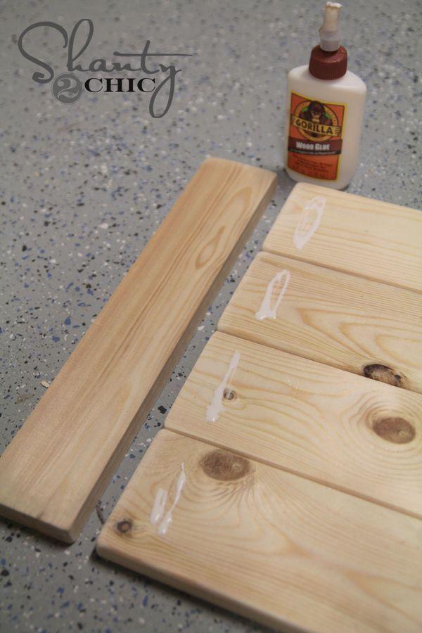 DIY $8 Wood Tray!!!