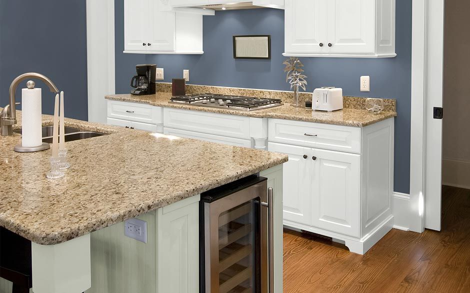 Kitchen glidden blue grey slate 2015 house ideas for Perfect kitchen colours