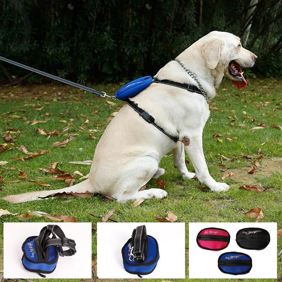 Reflecting Dog Harness With Leash And Pocket Dog Harness Dog