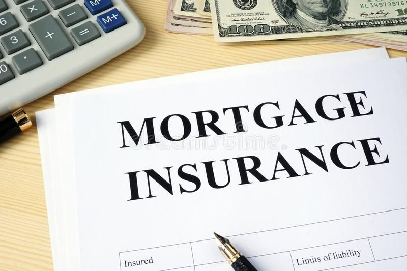 Mortgage Insurance Policy On A Desk Mortgage Insurance Policy On