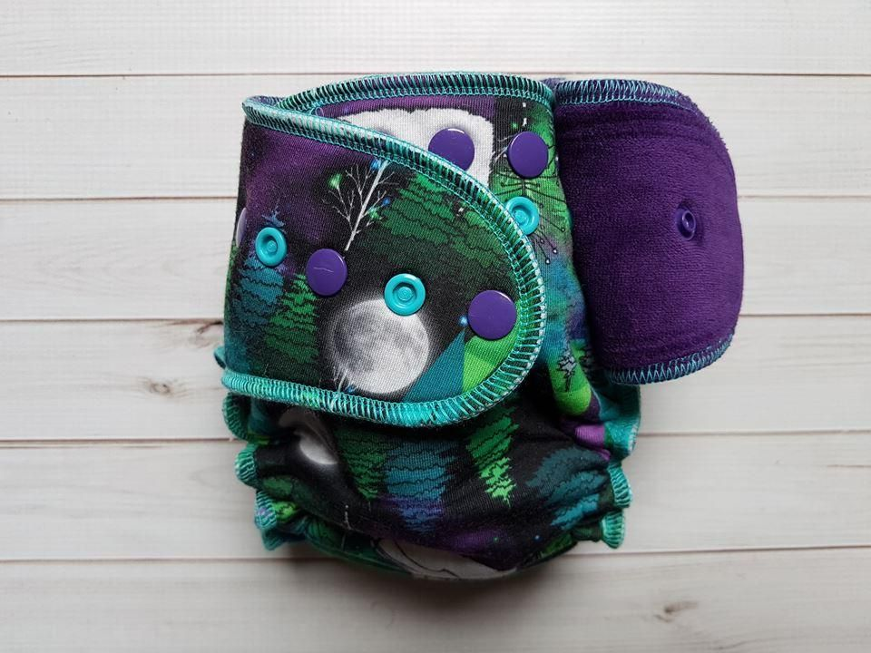 Dancing lights fitted cloth diapers dance bags