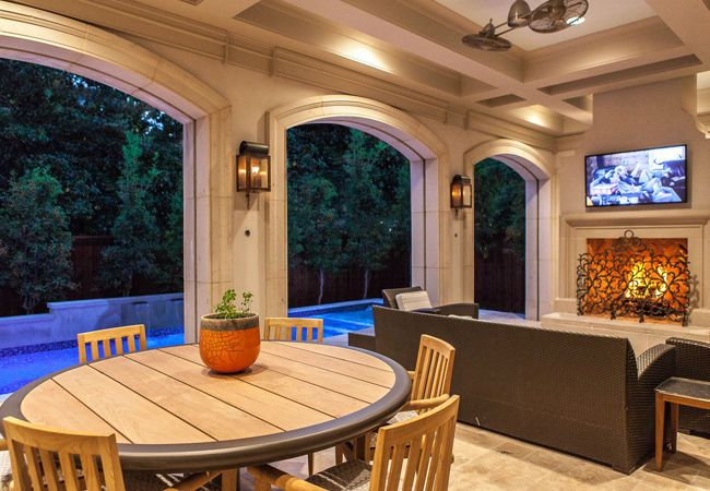Living Rooms | Platinum Series Homes by Mark Molthan ... on Platinum Outdoor Living id=24938