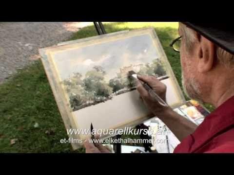 Aquarell Einfach Malen Aquarellieren Mit Wolfgang Baxrainer