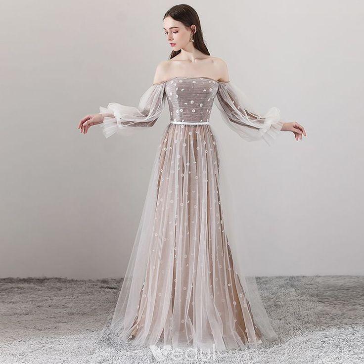 Elegante braune Abendkleider 2018 A-Linie / Princess-Linie ...
