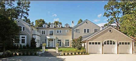 Harrison Ford And Calista Flockhart S New House In L A Celebrity Houses Mansions Celebrity Mansions